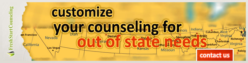 Out of State Counseling Services